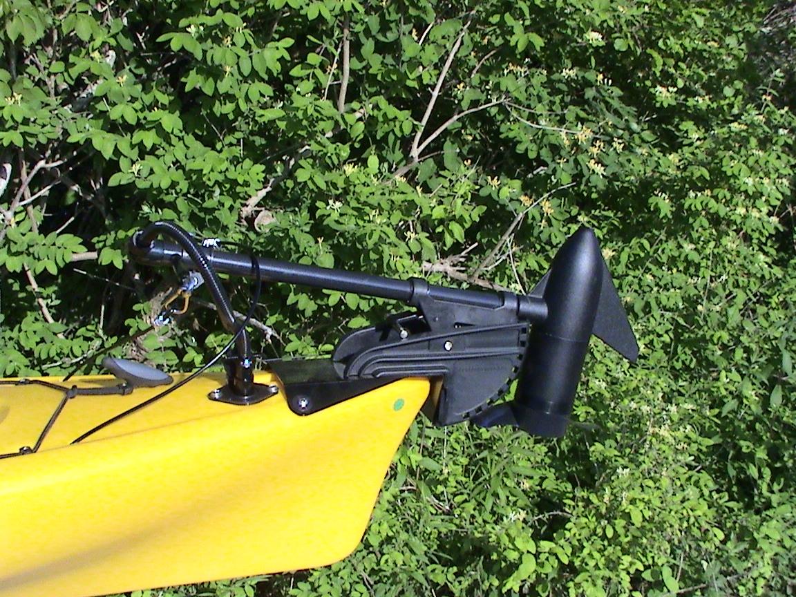 Other bassyak kits bassyaks for Cabela s advanced angler 120 trolling motor