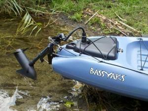 Jackson kayak bassyak kits bassyaks for Kayak electric trolling motor