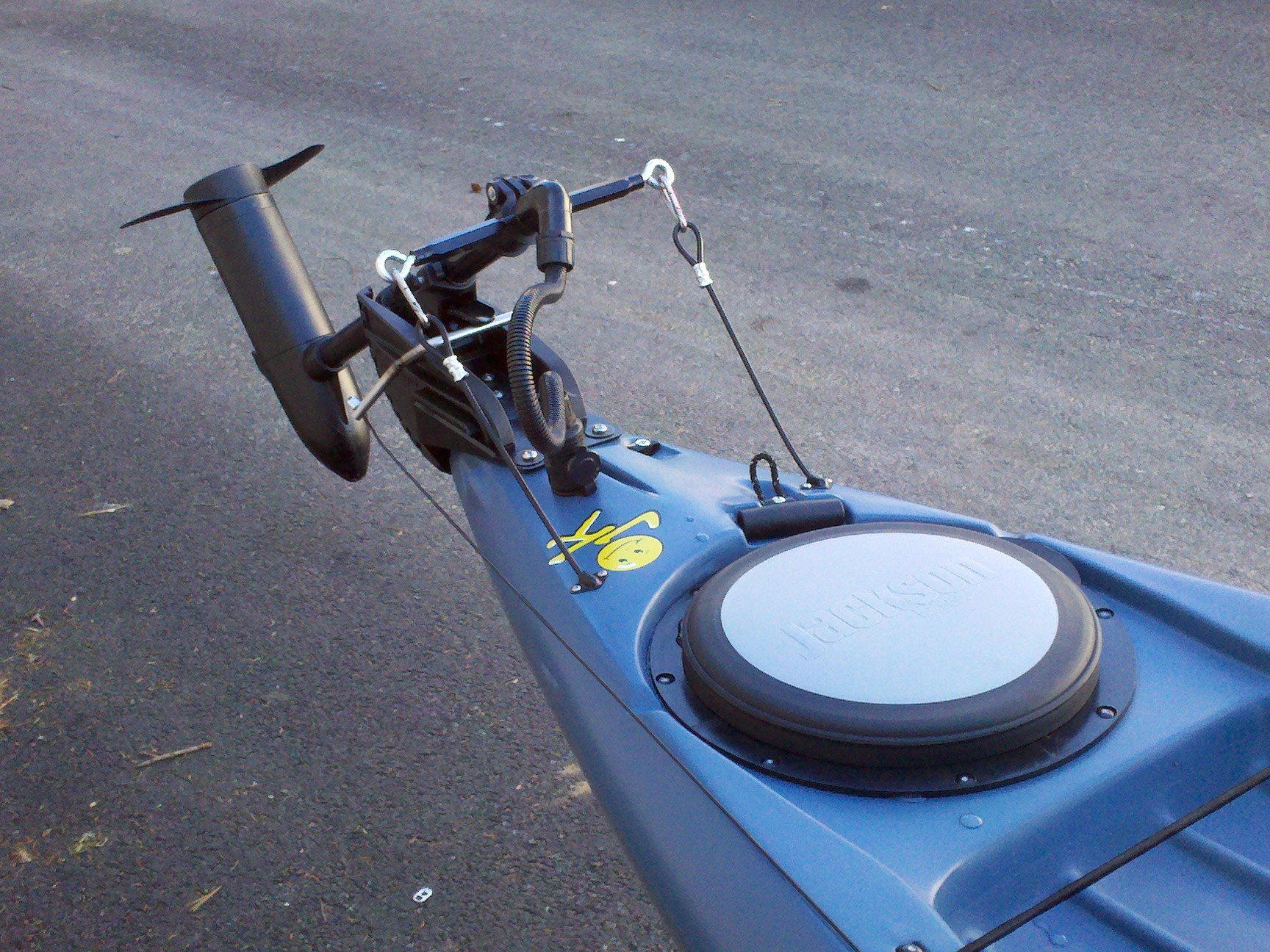 Electric Motor Mounts For Canoes